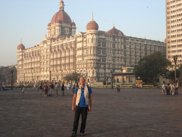 Hotel Taj Mahal, um dos pontos de interesse de Mumbai. Onde aconteceu o atentado em 2008