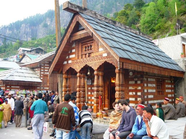Templo em Vashisht Village, Manali, Himachal Pradesh1