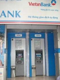 Nosso banco para todas as horas em todo o Vietnã. Um dos poucos que aceitava nosso cartão de débito