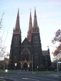 St Patricks Catholic Cathedral uma das igrejas mais lindas com vitrais e órgão. É um espetáculo.