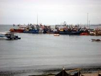 Barcos de pesca de Caldera