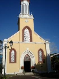 Catedral de Papeete – igreja católica em estilo gótico de 1844