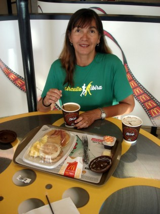 Melhor café da manhã do mundo: com muita fome